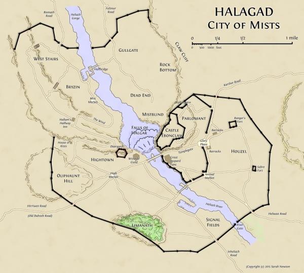 Halagad Map small